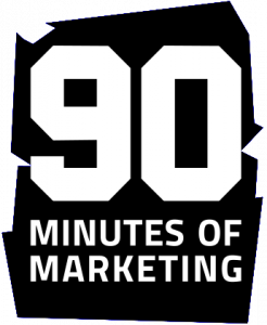 90 minutes of marketing